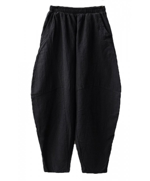 Soojun Womens Casual Bloomers Trousers