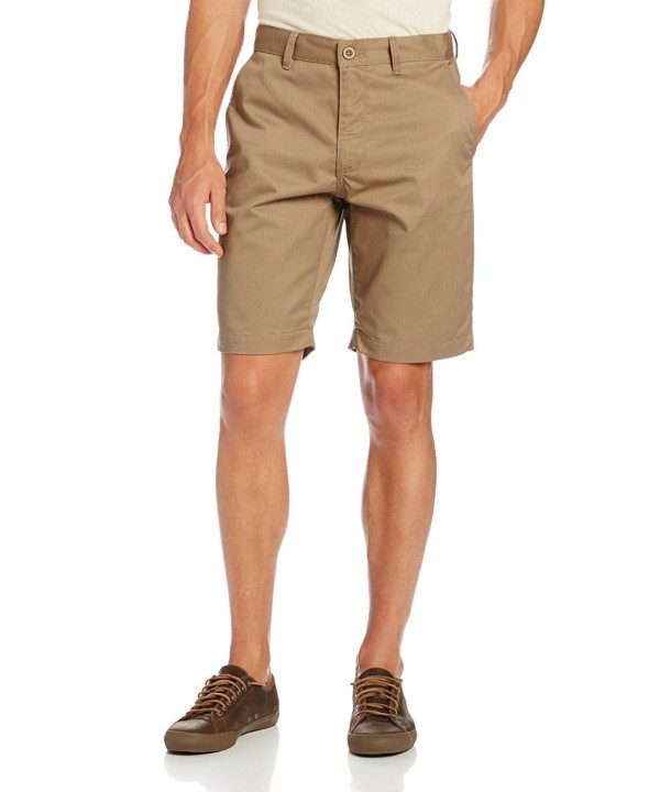 RVCA Mens Week End Short Khaki