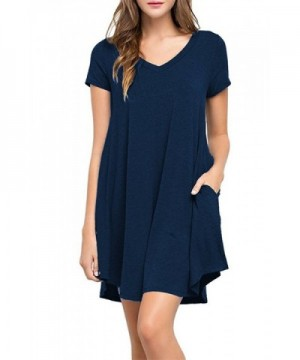 VOGRACE Womens Sleeve Casual Flared