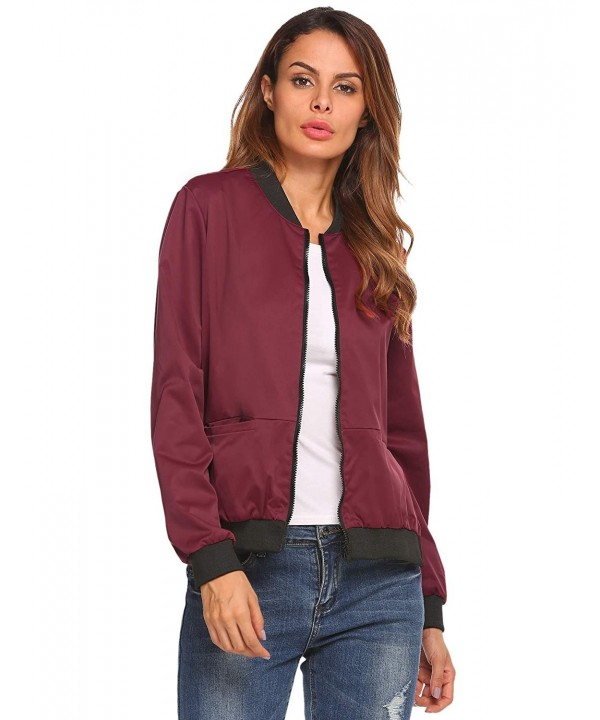 ACEVOG Womens Casual Sleeve Lightweight