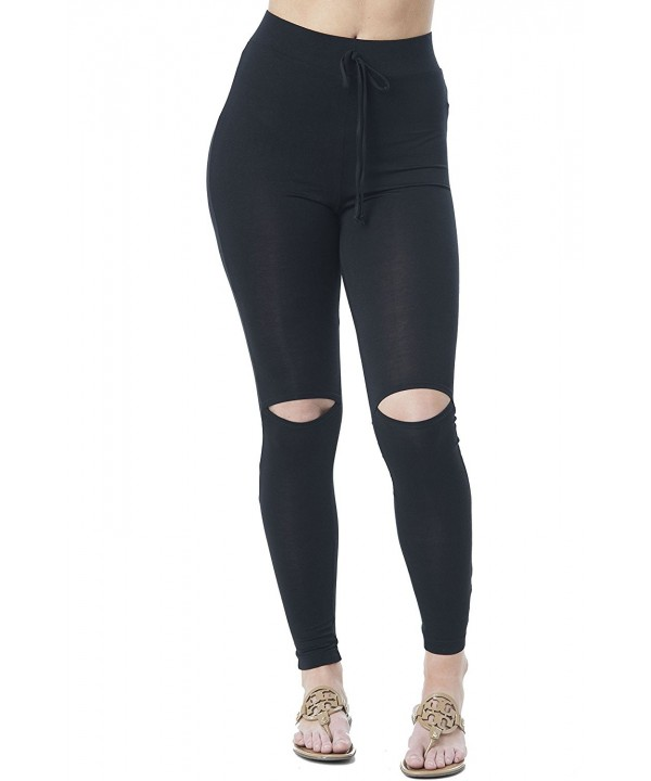 Khanomak Drawstring Spandex Stretchy Leggings