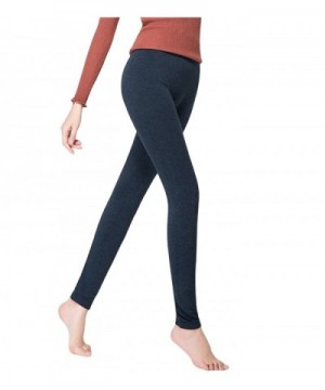 Degohome Womens Premium Leggings Darkblue