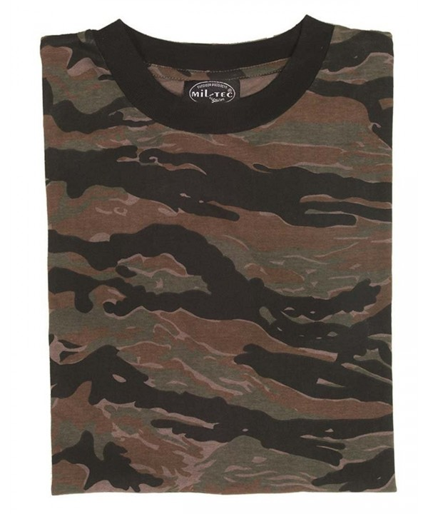 Mil Tec T shirt Tiger Stripe size