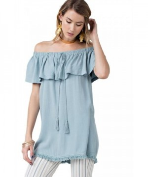 Easel Colored Bohemian Shoulder Fitting