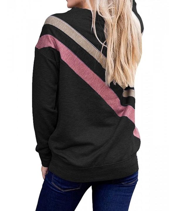Kancystore Womens Crewneck Sleeve Sweatshirt