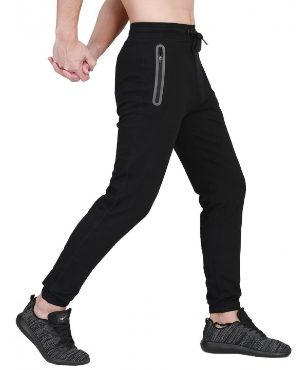 71f36041ead33a Men s Jogger Sweatpants Athletic Running Pants Sports With Pockets ...