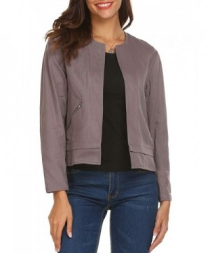 Soteer Sleeve Zipper Casual Cardigan