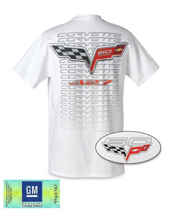 Mens Corvette 60th Anniversary Shirt
