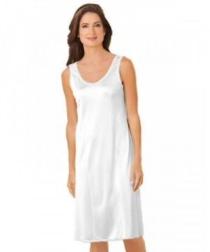 National Wide Strap Slip White