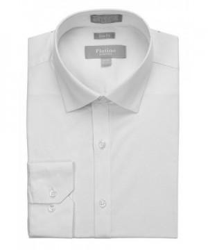 MARQUIS Spandex Dress Shirt White