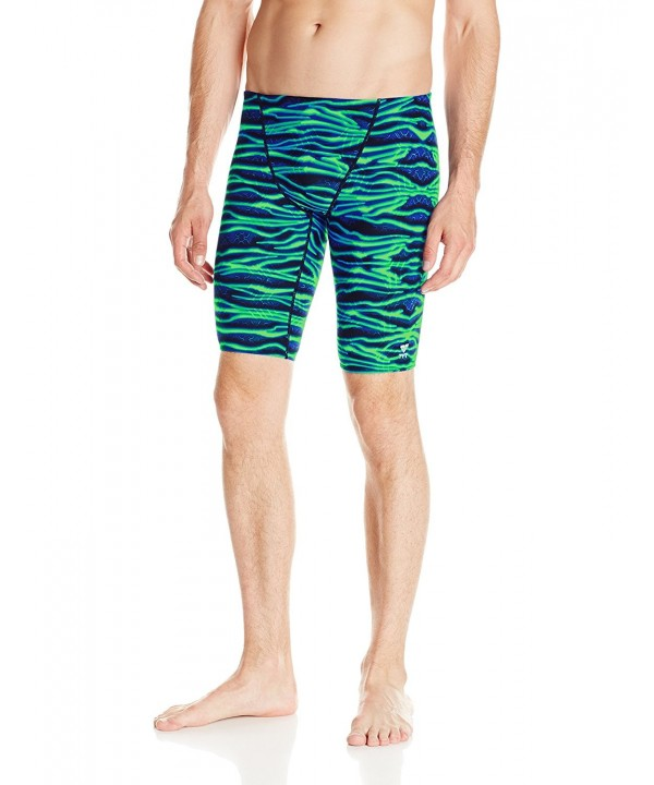 TYR Mens Voltage Jammer Green