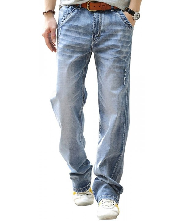 YOYEAH Relaxed Loose Straight Jeans