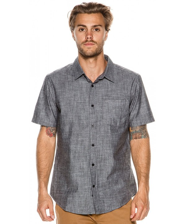 Hurley Mens Shirt Short Sleeve