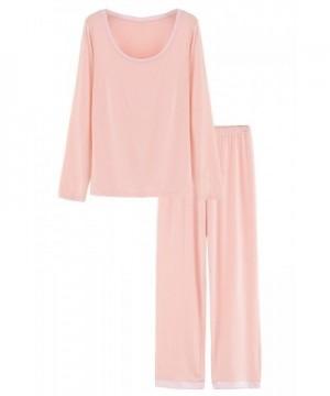 Latuza Womens Sleepwear Sleeves Pajama