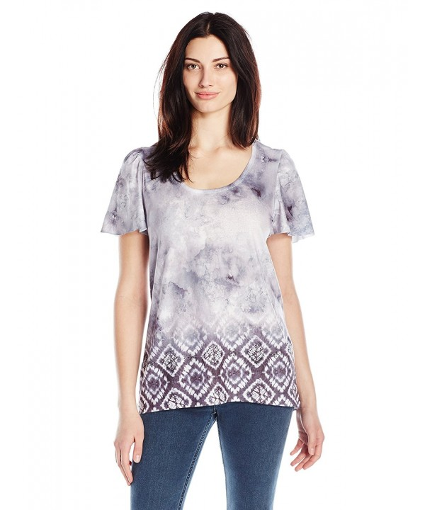 OneWorld Womens Short Sleeve Cloud