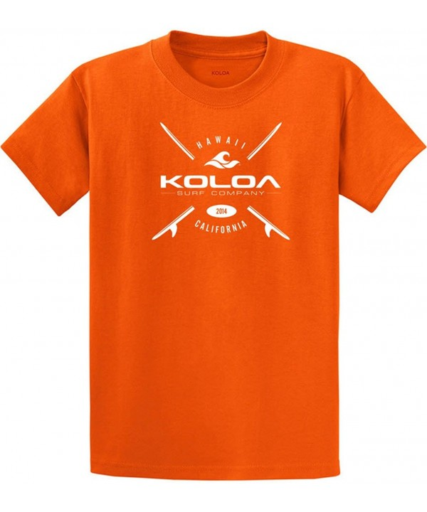 Joes USA Boards Cotton T Shirt Orange