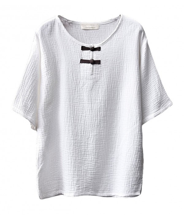 Soojun Womens Chinese Button Blouses