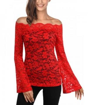 WAJAT Shoulder Womens Sleeve T Shirt