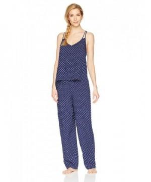 Mae Womens Printed Pajama Large