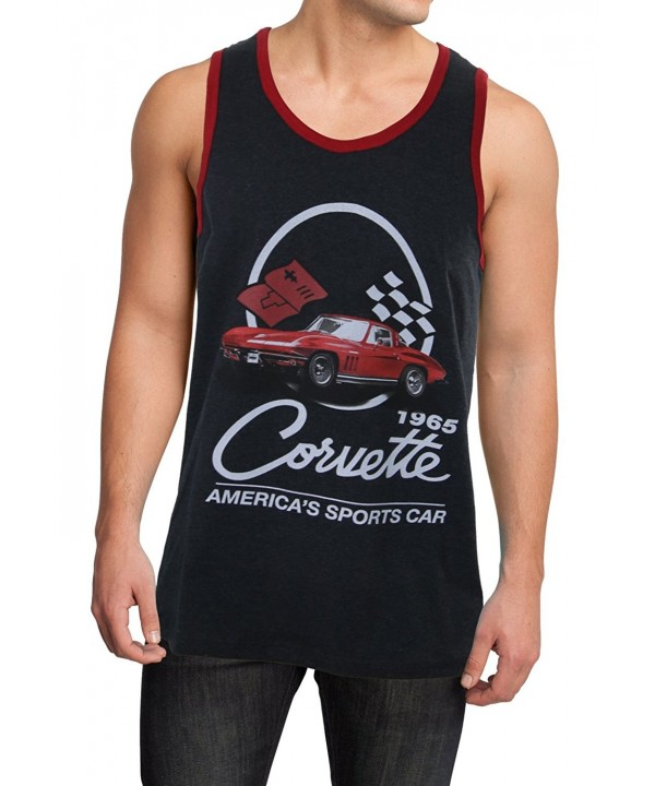 Corvette Mens Tank Top Medium