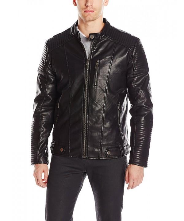 XRAY X Ray Leather Jacket X Large