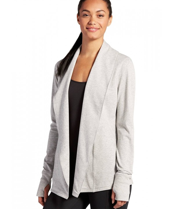 Jockey Womens Activewear Cardigan Heather
