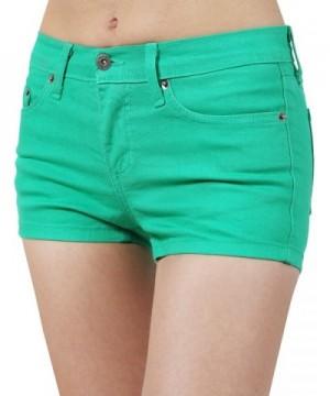 NE PEOPLE Womens Colored Pants KELLYGREEN M
