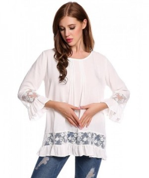 Corgy Casual Round Neck Patchwork T Shirt