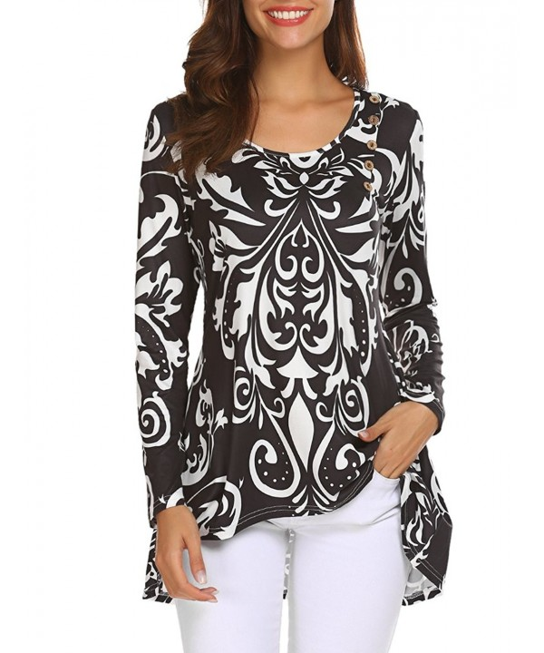 Halife Printed Sleeve Pleated Casual