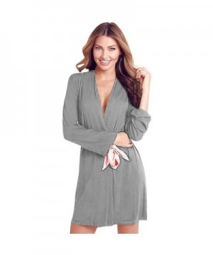 SESY Womens Cotton Sleepwear Bathrobe