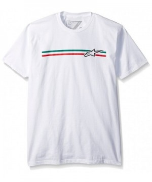 Alpinestars Mens Finish Tee White
