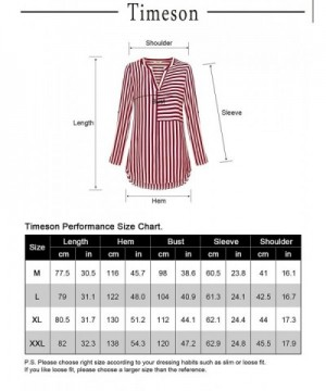 cba792699d39c8 Available. Timeson Blouses Chiffon Relaxed XX Large  Popular Women s Blouses  ...