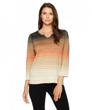 Alfred Dunner Womens Ombre Space