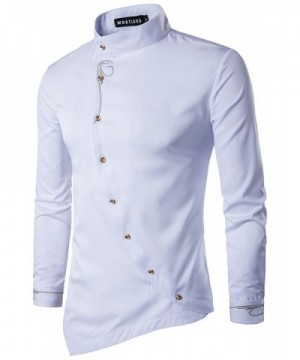 Whatlees Hipster Casual Embroidery T21 White