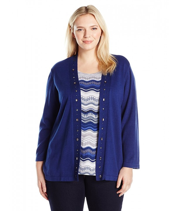 Alfred Dunner Sapphire Sweater SHAPPHIRE