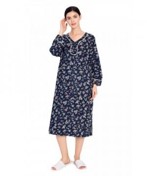 lantisan Cotton Floral Nightgown Caftan