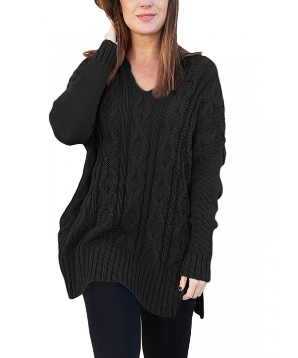 Hount Womens Sleeve Sweater Pullover