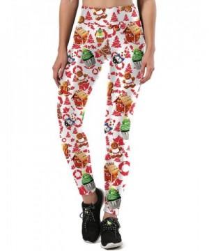 DUOLIFU Selling Christmas Leggings Colorful