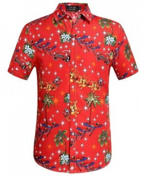SSLR Christmas Button Hawaiian XX Large