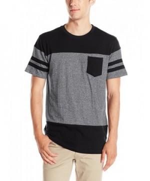 Southpole Sleeve Marled T Shirt Pocket