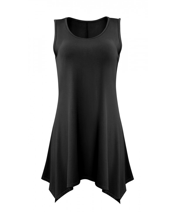 Yidarton Women Sleeveless Blouse Summer