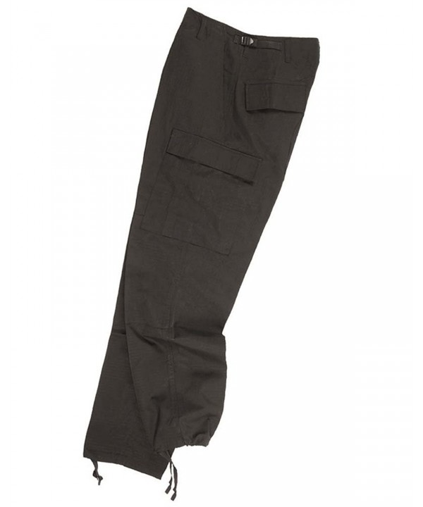 Teesar Mens Trousers Ripstop Black