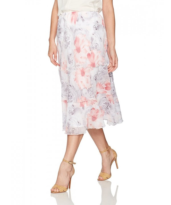 Alfred Dunner Womens Petite Floral