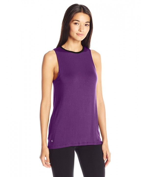 NUX Womens Either Tank Plum