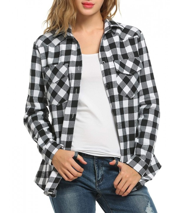 Bifast Womens Mid Long Roll Up Flannel