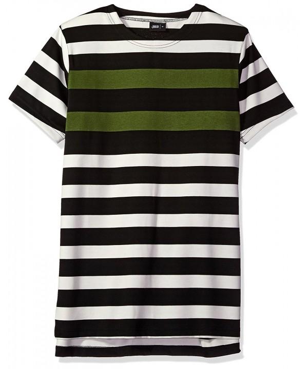 PUBLISH BRAND Sleeve Striped T Shirt