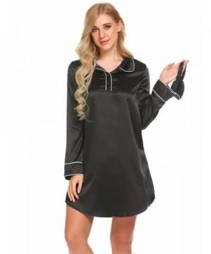 luxilooks Nightshirt Boyfriend Sleepshirt Nightgown