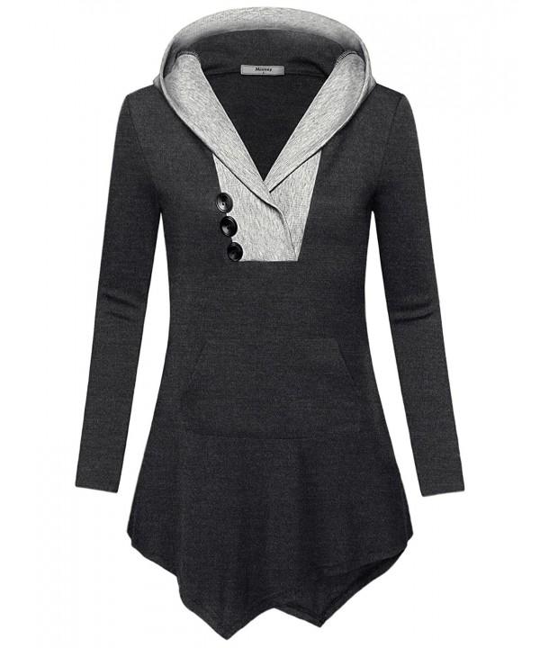 Miusey Juniors Knitwear Flattering Sweatshirt