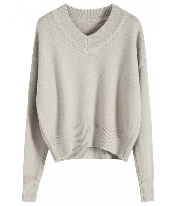 Youshunfushi Womens Sweater Pullover Leisure
