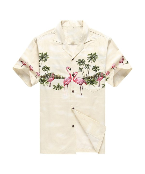 Hawaii Hawaiian Shirt Aloha Flamingos